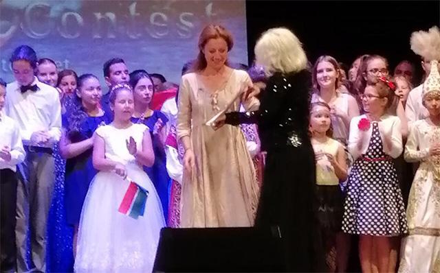 Наша ученица стала лауреатом в Италии